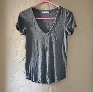 Zara Grey Top